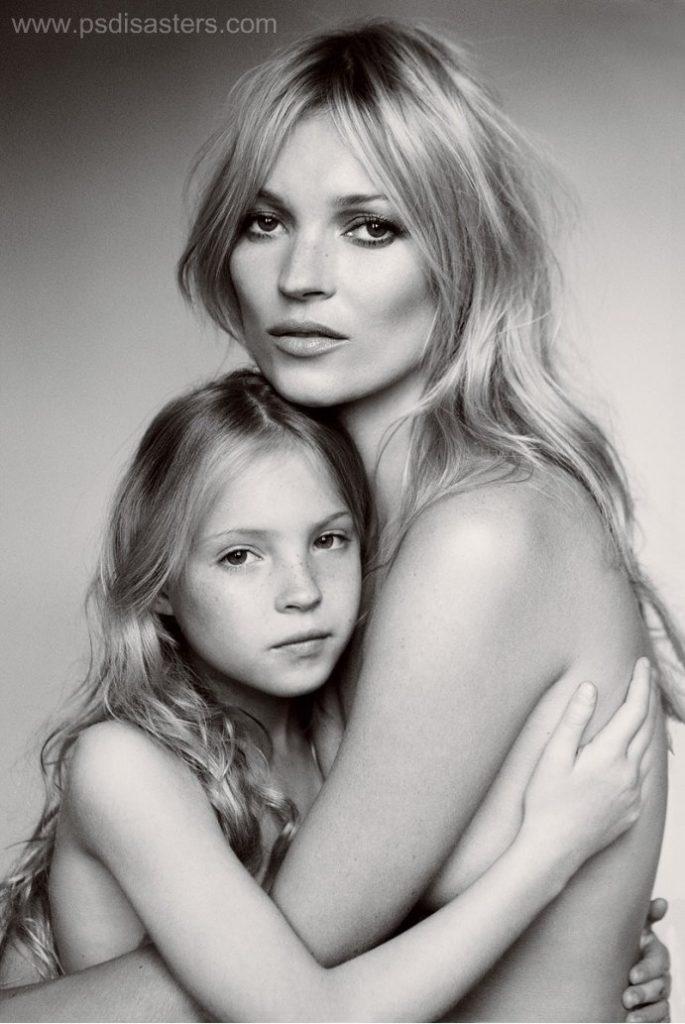Kate Moss photoshop