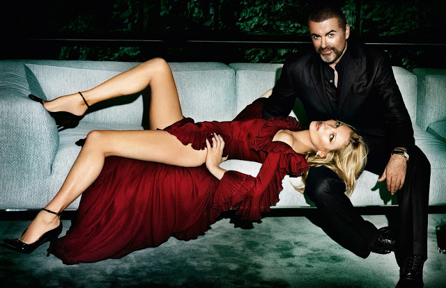 George Michael & Kate Moss se pasan el photoshop en Vogue París