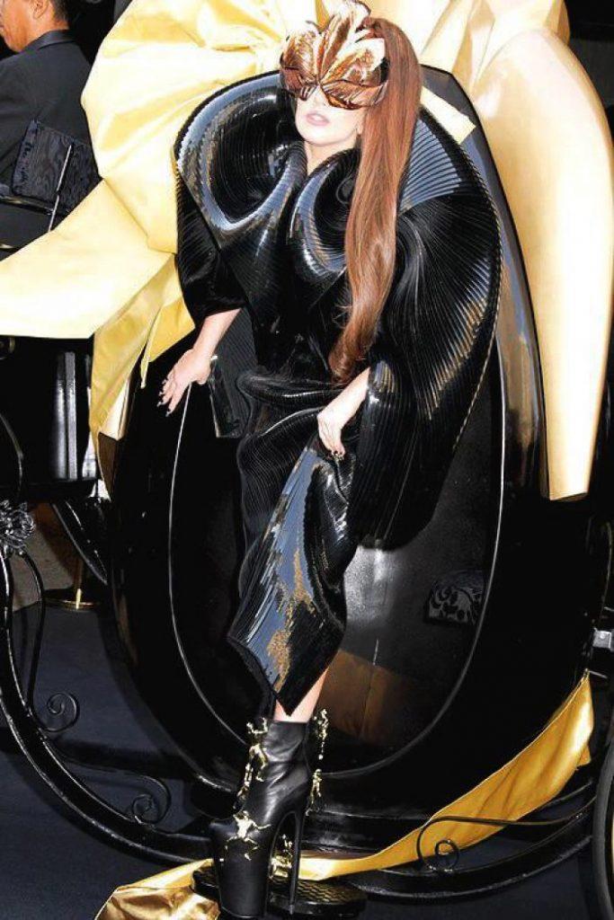 Men shoes lady gaga fame (1)