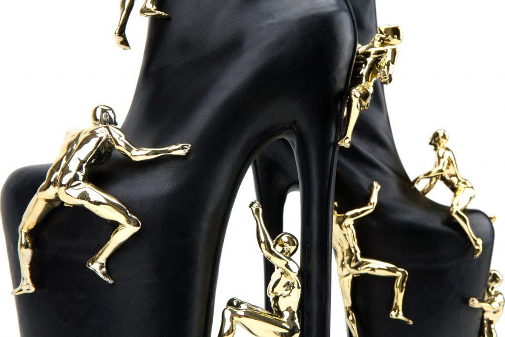 Men shoes lady gaga fame (2)