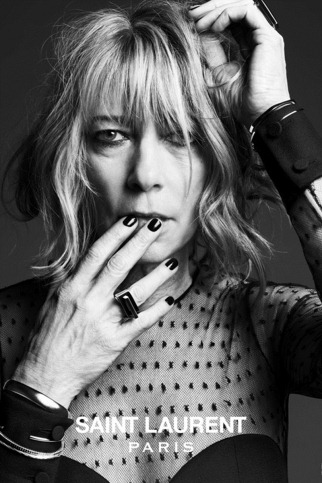 hedi slimane saint laurent paris musi collection Kim Gordon (1)