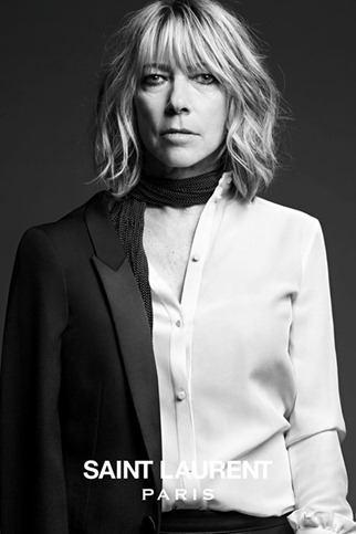 hedi slimane saint laurent paris musi collection Kim Gordon (2)