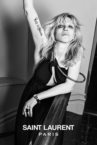 hedi slimane saint laurent paris musi collection courtney love (4)