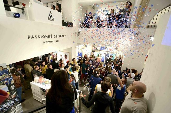 inauguracion tienda deporte le coq sportif barcelona (4)