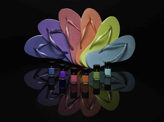 Havaianas y Sephora. ¡El color se rinde a tus pies!