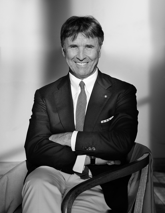 """Brunello Cucinelli, Premio """"Man of the Year"""" del Grand Prix Advertising Strategies."""