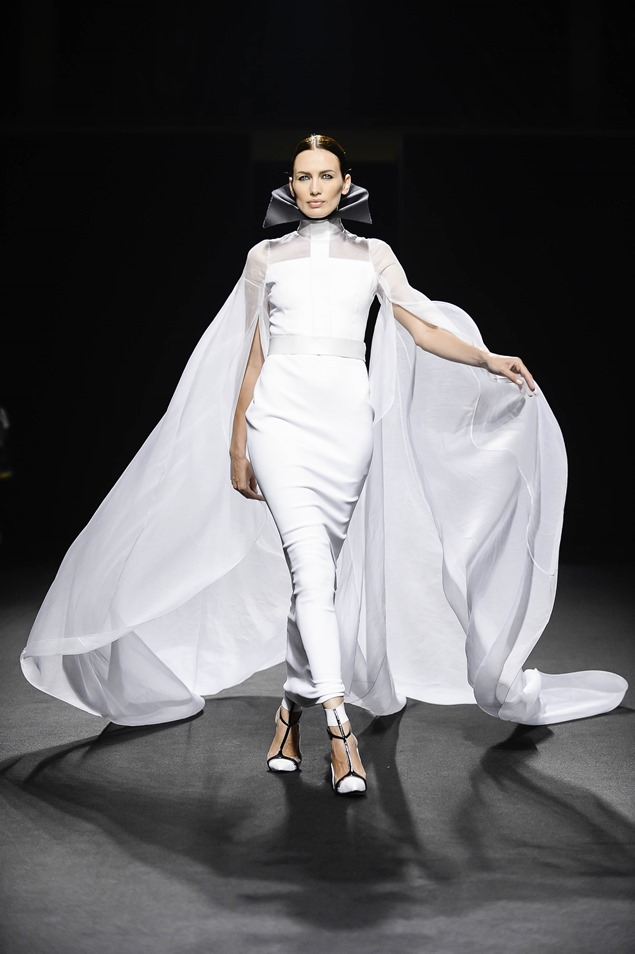 Nieves Álvarez, musa de Stéphane Rolland Alta Costura