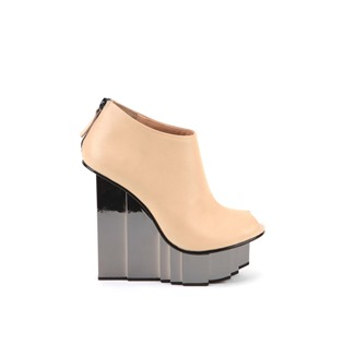 UNITED NUDE PVP 340 EUROS - rockerfeller-peeptoe-bootie-nude-out