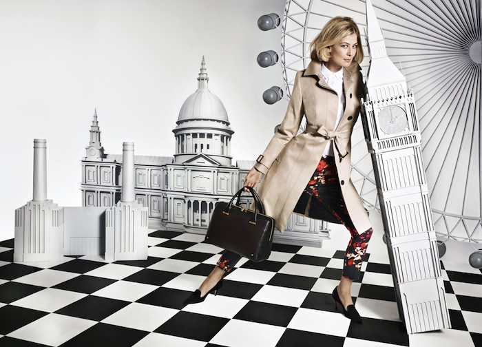 L.K.Bennett presents its new fall campaign / Invierno 2013 con Rosamund Pike