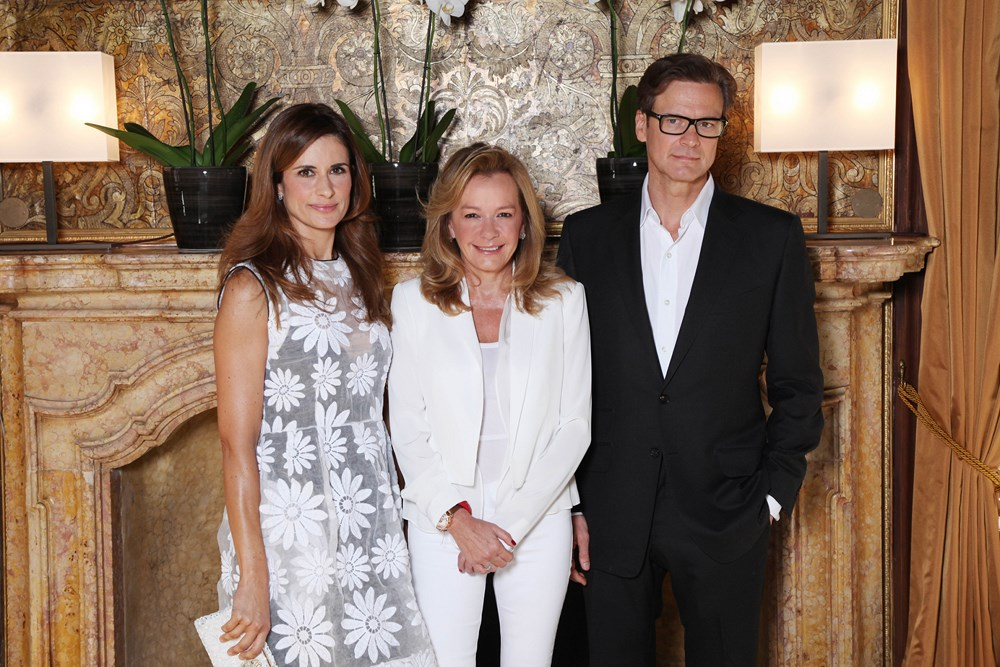 Livia Firth Caroline Scheufele Colin Firth (Copy)