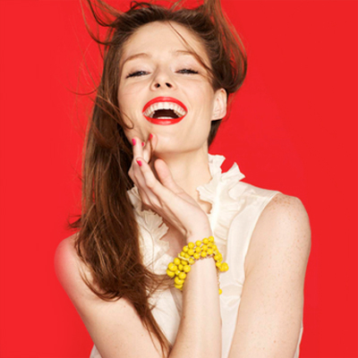Coco Rocha, the model bailonga