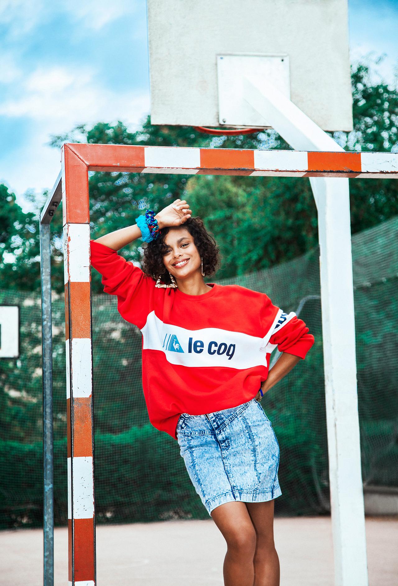 Le coq sportif revive el hip hop de los años 80