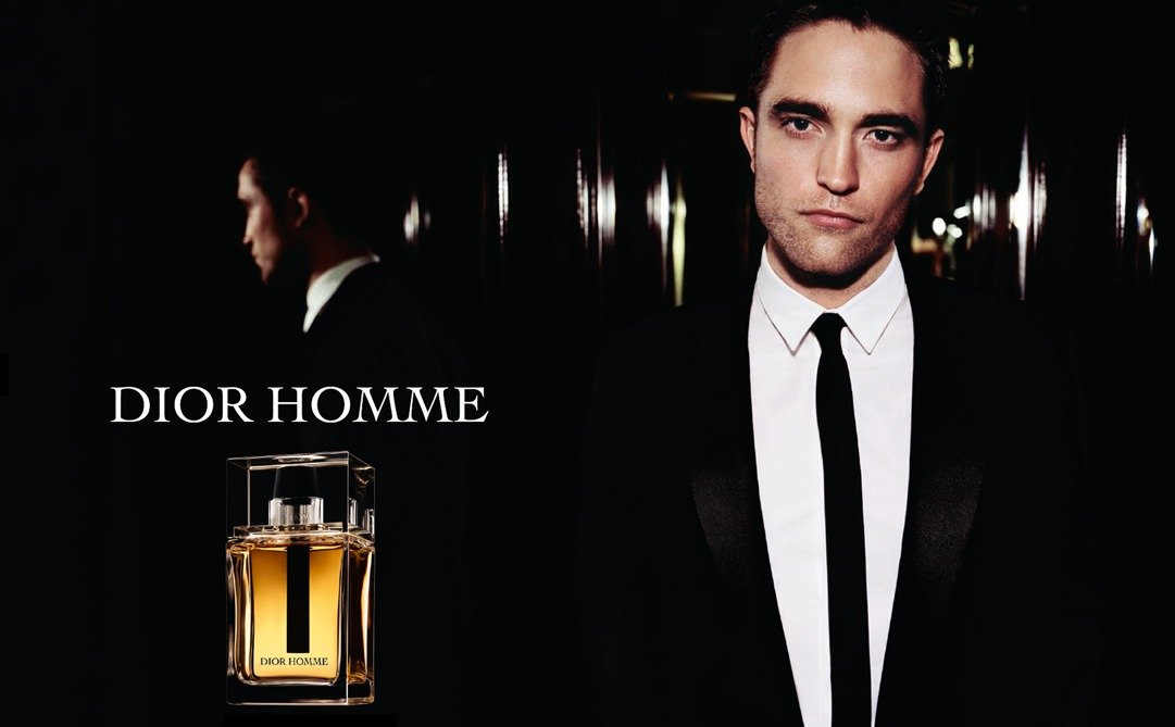 robert pattinson dior anuncio