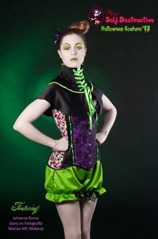 Miss Self Destructive presenta una colección especial para Halloween