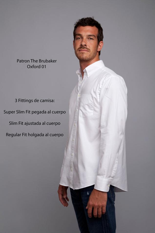 La firma The Brubaker lanza la Oxford 01 Shirt: Básico de lujo