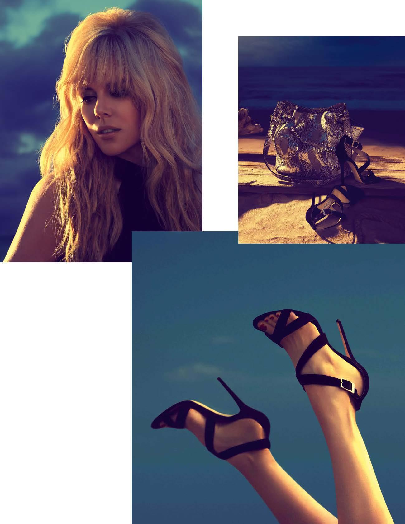 Nicole Kidman se va a la playa con Jimmy Choo (Campaña Cruise 2014)