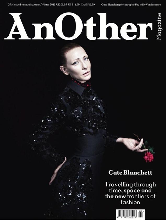Portada: Cate Blanchett en Another Magazine