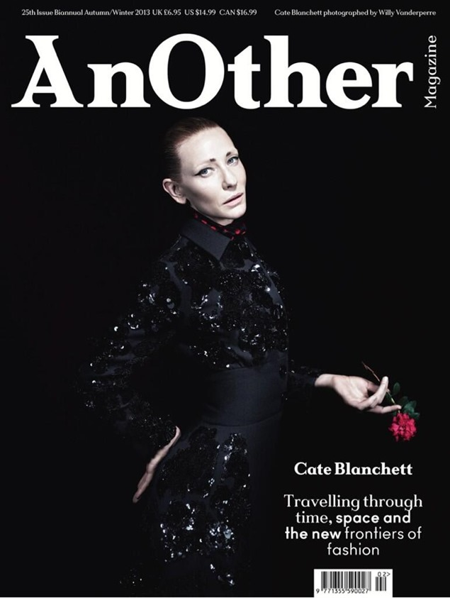 Cate Blanchett Another magazine Willy Vanderperre