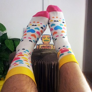 happy socks gafas amarillas eclechico (2)