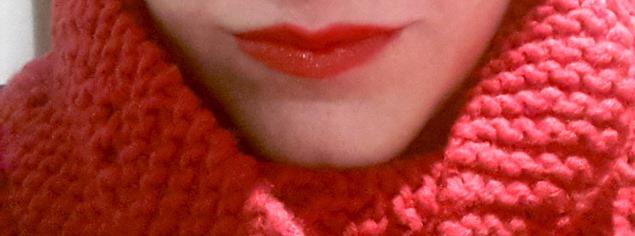 labios y bufanda