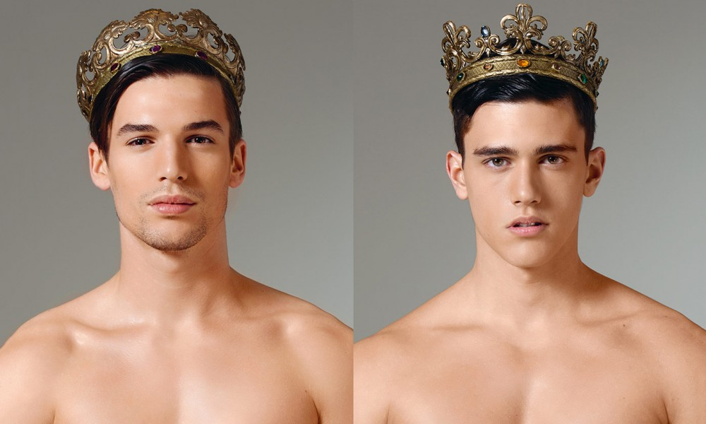 Yes men with crown
