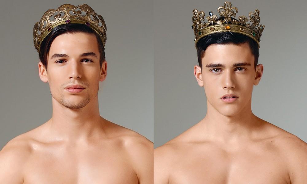 Oui les hommes avec couronne