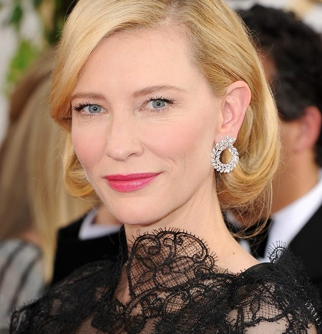 Green Carpet Challenge at the Golden Globes with Cate Blanchett and Chopard