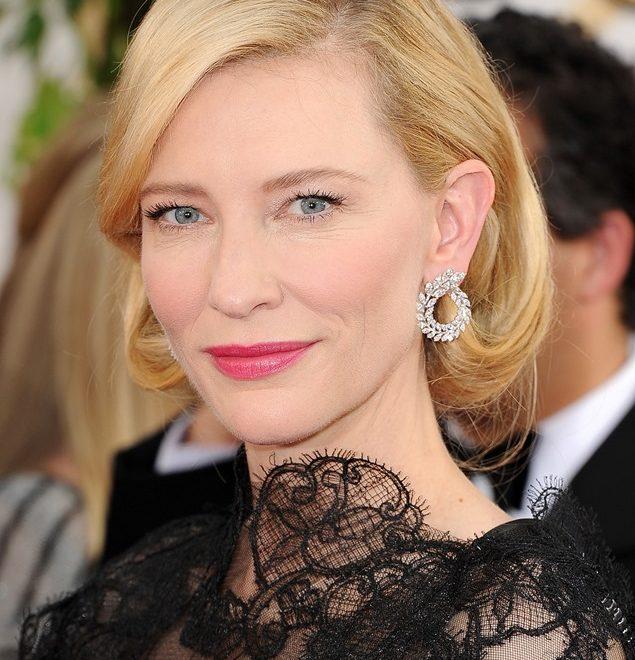 Green Carpet Challenge en los Globos de Oro con Cate Blanchett y Chopard
