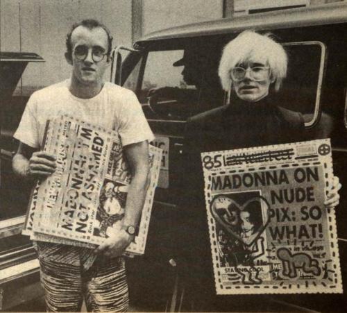 Guia de Nueva York lejos de NY Keiht Haring y Warhol