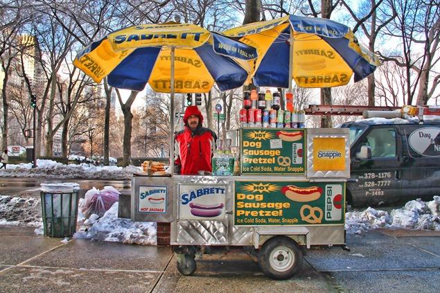 Guia de Nueva York lejos de NY Street Vendor1