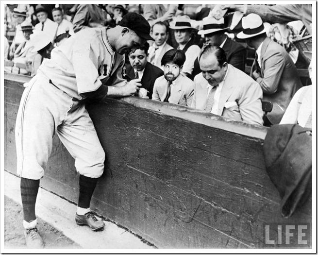 Historias de los anos 20… desde dentro al capone beisbol