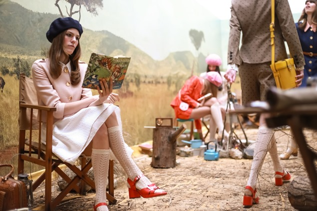 Orla Kiely makes a capsule collection for Clarks