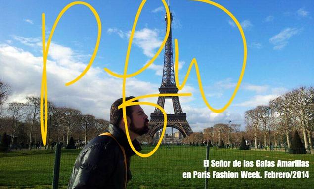 Experiencia Gafas Amarillas: París Fashion Week 2014