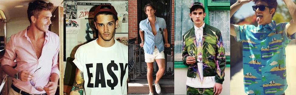 5 tendencias que SI O SI para verano (Hombre)