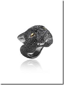 Chopard Black  Panther ring by Harumi Klossowska de Rola 820