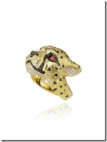 Chopard Leopard ring by Harumi Klossowska de Rola 820778-000