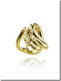 Chopard snake ring by Harumi Klossowska de Rola 820777-0001