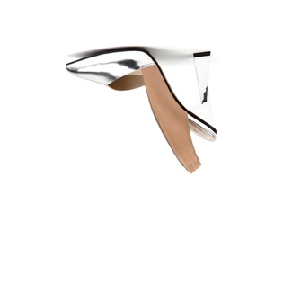 PVP 295 EUROS flare-nude-silver-out