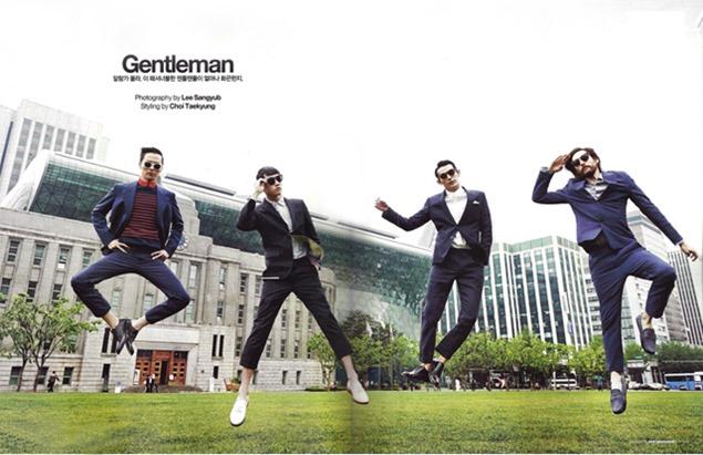 gentleman gentlemodel corea