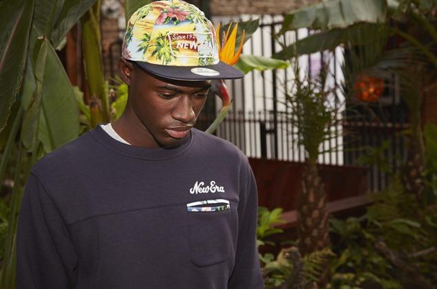 new era estampado gorra (1)