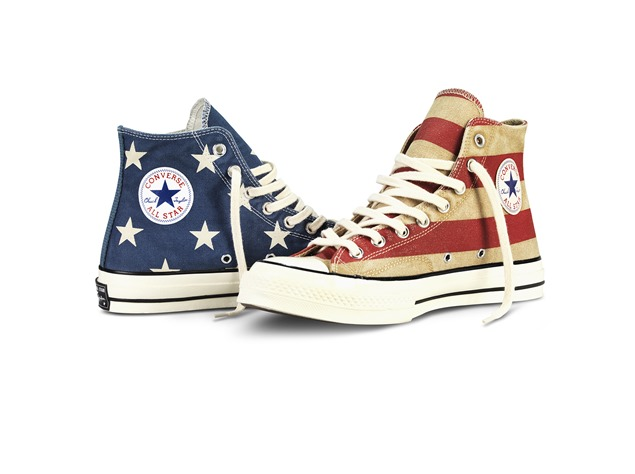 Vintage Flag Chuck Taylor All Star  (1)