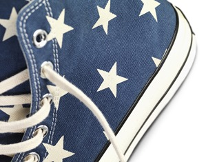 "Converse is going strong this summer with the new ""Vintage Flag Chuck Taylor All Star '70"""