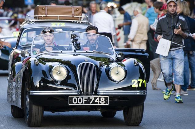Mille Miglia 2014, Brescia, 15.05.2014 (c) Alexandra Pauli for Chopard