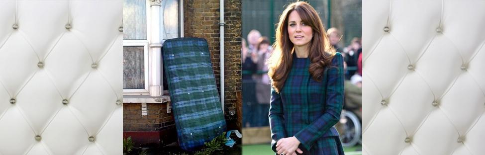Imperdible: Celebrities vestidas de colchones