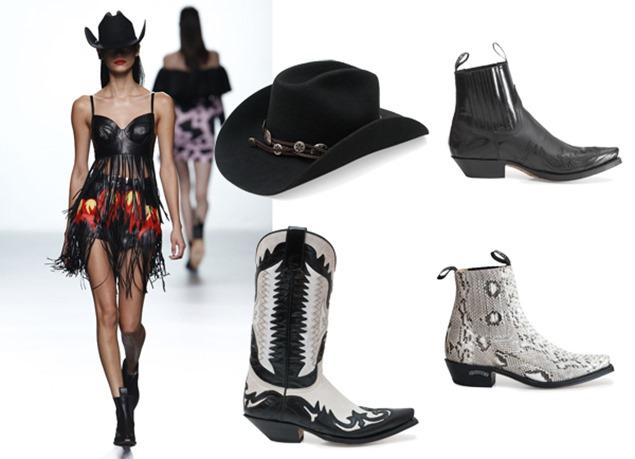 Sendra Boots calza una vez más Far Love de María Escoté