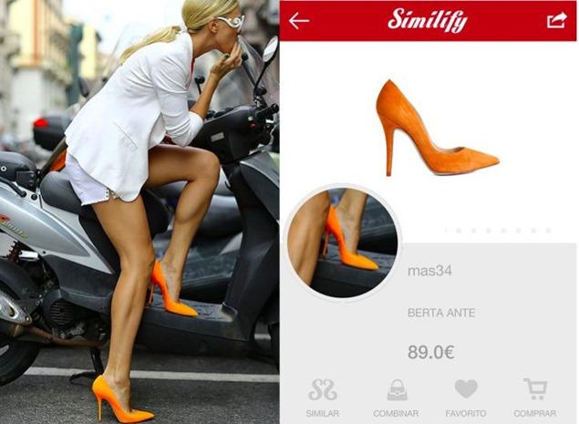 Similify, localiza tu prenda favorita a partir de una foto con el móvil