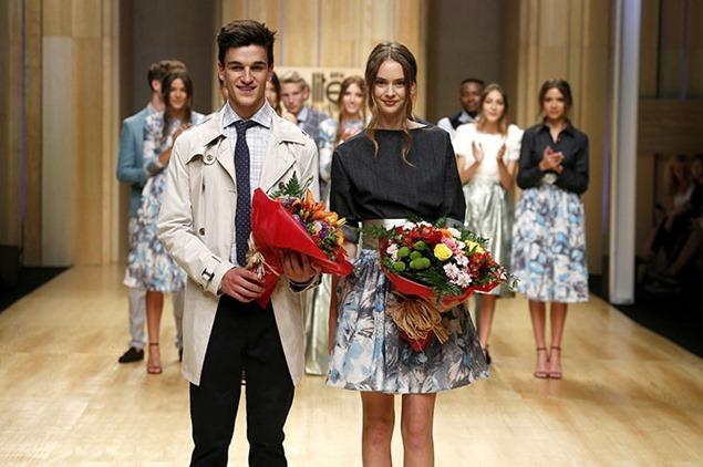 Gala Houlihan y Aitor Andueza, ganadores de Elite Model Look España 2014