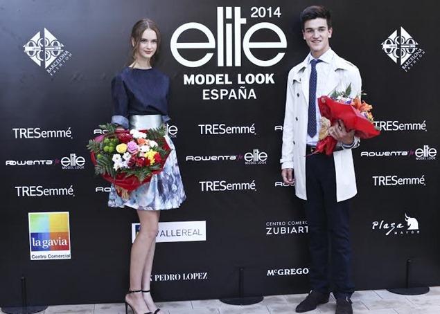 Ganadores Elite Model Look España 2014