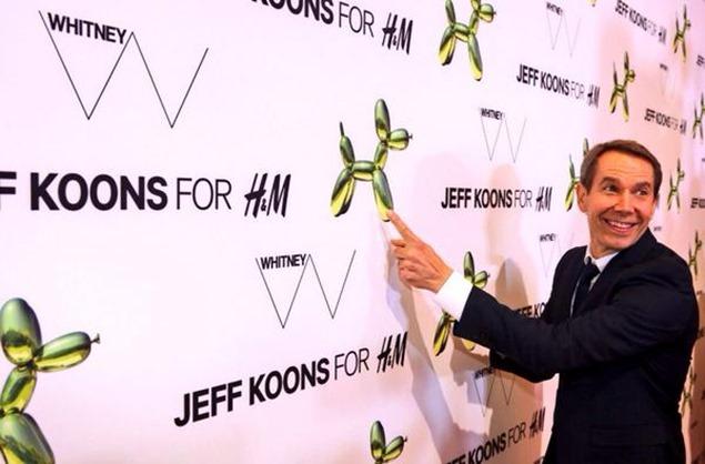 H&M se une al artista contemporáneo Jeff Koons