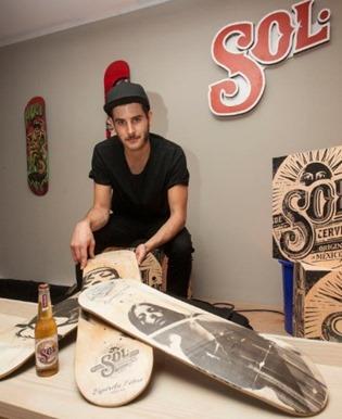La cerveza SOL abre un nuevo espacio artístico en Malasaña (Madrid)